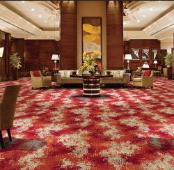 Habitación de hotel impresos comerciales impresión Chromojet Alfombra Shenzhen