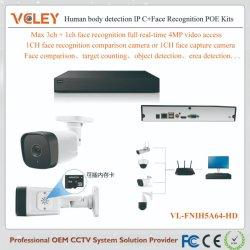 Caméra IP Dahua étanche evn package de système de surveillance NVR Kits