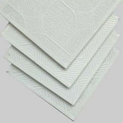 Scheda del soffitto delle mattonelle/gesso del soffitto del gesso del PVC/scheda laminata Ceiling/PVC delle mattonelle/gesso del soffitto gesso del gesso