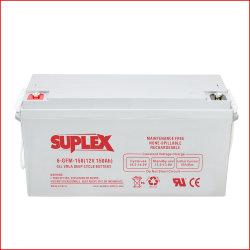 12V 150ah 납산 SLA/VRLA/AGM/겔 카본 DC UPS/솔라 패널 - 전원 시스템 - 배터리 레옥/나라다 제조업체 가격