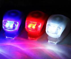 Het kleurrijke LEIDENE van de Toebehoren van de Fiets van het Silicone Licht van de Fiets