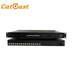 Biss 4/8 DVB-S2 DVB-C, DVB-T Isdbt Tuner ATSC à l'IP de passerelle de banderoles