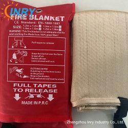 Ignifugação de tecido de fibra de vidro para serviço pesado de manta de solda de Segurança contra Incêndio