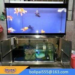 、魚飼育用の水槽装飾的な、美しい長方形のガラスタンクアクアリウム