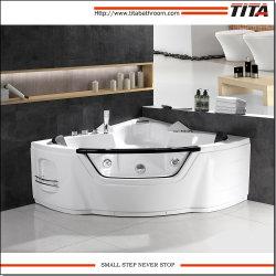 Vasca da bagno poco costosa di massaggio del mulinello di disegno classico con la sede Tmb110
