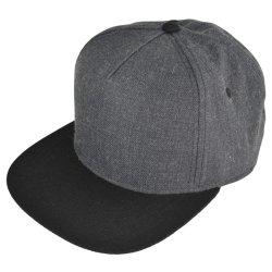 Venda por grosso de 5 Comandos Personalizados Snapback Baseball Sport/Sports Hat Cap com lã acrílica