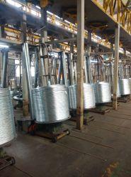 Electro chaud ou de feux de fil en acier haut carbone galvanisé