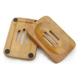 Полы из бамбука мыло блюдо держатель для хранения мыла держатель для ванной комнате душ мыло блюдо контейнер для руки мыло