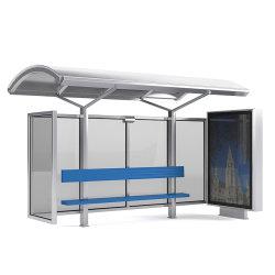 Diseño de Custom-Made parada de autobús de metal de la vivienda con pantalla LED