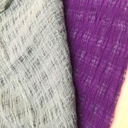De nylon Kleurstof van het Garen van het Linnen rimpelde goed Verkopende Stof voor het Kledingstuk en de Sjaal van de Manier