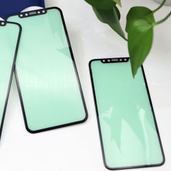 3D vidro curvo Anti Protector de luz azul luz verde de protecção ocular protetor de tela para iPhone 11/iPhone 12