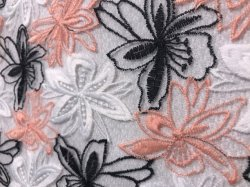 Deux couleurs de robe dentelle robe de fête