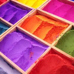 Revestimiento en polvo de oro metálico electrostática pintura