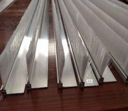 La transformation et de la production de base en alliage aluminium de haute qualité sur le fil de nylon barre en acier inoxydable Brosse brosse Escalator