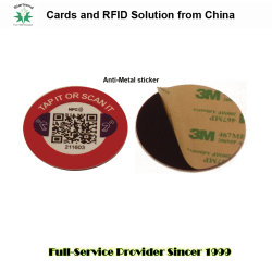 Autocollant Tamper-Proof Anti-Metal sticker autocollant RFID tag RFID (étiquette)