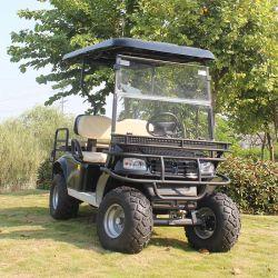 4인승 미끄럼 방지 타이어 전기 사냥 카트가 들어 올려져 있습니다 모터 맞춤형 골프 카트 사용(DH-C2+2)
