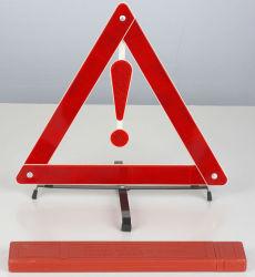 Wt-09 signe d'avertissement de sécurité rouge Triangle d'avertissement de voiture