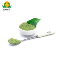 Vegetal verde espinaca natural en polvo