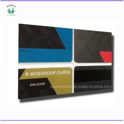 Surimprimées Carte PVC avec CMJN, Pantone, Metallic Gold/Silver de l'impression