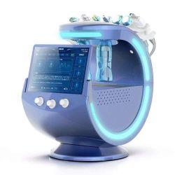 2020 Тренды Intelligent голубой лед 7 в 1 анализатор кожи Microdermabrasion Diamond Hydra воды на лице кислородный пилинг чистка салон машины