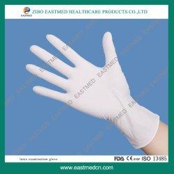 Gant en latex de qualité médicale ou chirurgicale d'examen des gants jetables