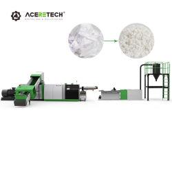 PET/PP/PE/Agrarfolie/gewebter Beutel/Flaschenflocken/Klumpen/Karton/Rohre Zerkleinerung von Schreddern Washing Line Kunststoff-Recycling-Maschine Pelletizing-System