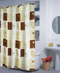A impressão de transferência de calor da cortina de chuveiro de poliéster