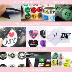 Zelfklevende sticker Sticker Vinyl Sticker Rood Wijnlabel Beverage Wijnlabel Kleur Metal Sticker blik Food Label Theelabel Sticker PVC-labels voor vensterstickers