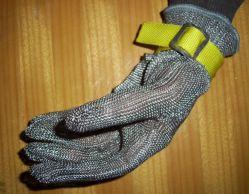 Edelstahl geschnittener beständiger Handschuh
