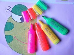 De multi Teller van de Pen Highlighter van de Kleur Promotie Mini Vastgestelde Fluorescente