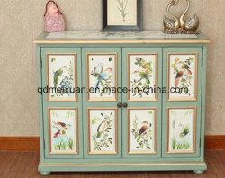 Bird Equipamento Arca Desenho de Cor ou Padrão mobiliário rural sólidos de madeira (M-X3321)