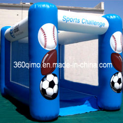 Inflatable Flat Top Sports Challenge Playground (Bmsg138)