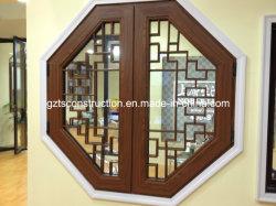 نافذة خشبية عالية الجودة مع زجاج مزدوج AS/NZS2208