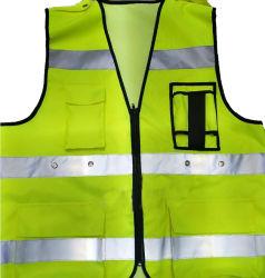 [رشرجبل] [لد] أمان يصمّم صدرة مع جيب & شريط انعكاسيّة قابل للغسل