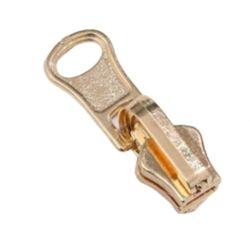 Testa in lega di zinco della chiusura lampo del cursore della chiusura lampo della Auot-Serratura del metallo con il cursore 3 della chiusura lampo del tenditore