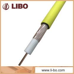 Slywvの防火効力のある裸の銅線の組みひもの漏れやすいき線ケーブル