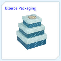Contenitore di regalo dell'imballaggio del documento della decorazione di alta qualità