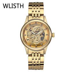 Het professionele Horloge van het Kwarts van de Kwaliteit van het Horloge van de Polshorloges van de Luxe van de Mensen van de Fabrikant Automatische Fantastische Duurzame Populairste Waterdichte