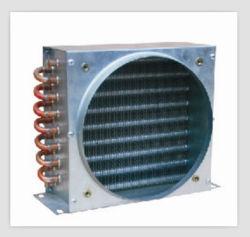 Tubo In Rame Serpentina Condensatore Ad Alette In Alluminio Per Riscaldamento Refrigerazione Ventilazione Dell'Aria Condizionata