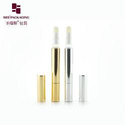 1,5 ml 2ml 4ml Tubo de Aluminio de plástico envases cosméticos ronda dientes Whiteening/Eyeliner/Lip Gloss Twist botella pluma cosmética