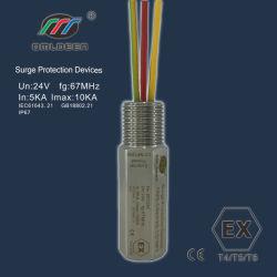 反爆発のシグナルの防止装置、前の(d)管状のサージの回線保護装置