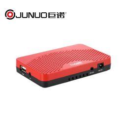 Junuo 공장은 Cccam Biss Youtube 디지털 인공 위성 수신 장치를 바람쐬기 위하여 해방한다