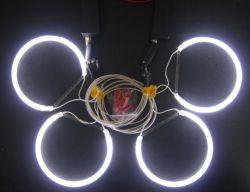 LED CCFL de couleur blanche COB Angel Eyes Ring