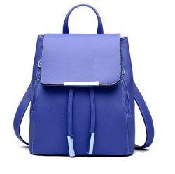 As mulheres de couro PU Meninas Senhoras Fashion Travel Mochila Saco de ombro