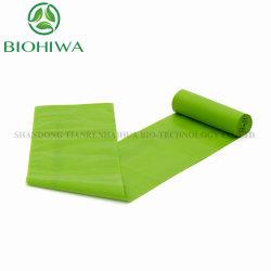Preço grossista Pbat PLA T Shirt Non-Toxic carregar sacos de lixo biodegradável de lixo de plástico para a sala de estar