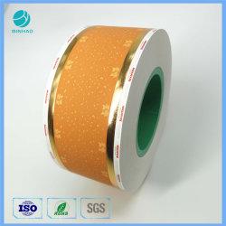 Feuille de cigarettes l'Estampage Cork 64mm de papier de basculement de l'impression couleur