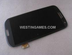 Pour Samsung Galaxy Siii J9300 de l'écran LCD + Touch numériseur Assemblée - Bleu de galets