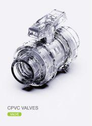 De Klep van de era CPVC, Norm DIN/ANSI/NPT/BSPT/JIS/BS, ASTM F1970, nSF-Pw & Upc