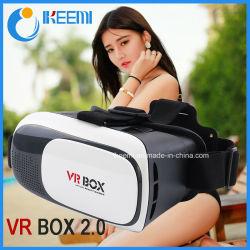Caixa de VR OEM 2.0 Óculos de Realidade Virtual 3D Vr Fone de ouvido + controlador Bluetooth