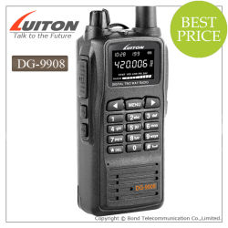 Zendontvanger van de FM van Portabe de Digitale Radio DG-9908 VHF van Luiton UHF